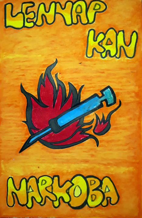 Lenyapkan Narkoba Poster Anti Narkoba