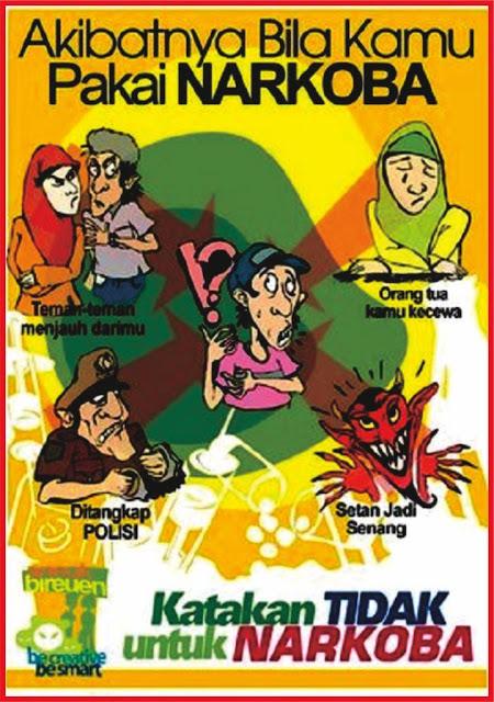 30+ Trend Terbaru Contoh Gambar Poster Jauhi Narkoba ...