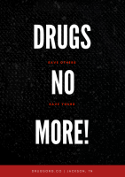 DRUGS NO MORE