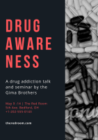 A drug addiction talk and seminar